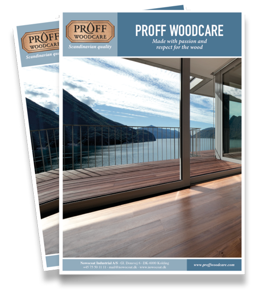 Proff Woodcare color brochure